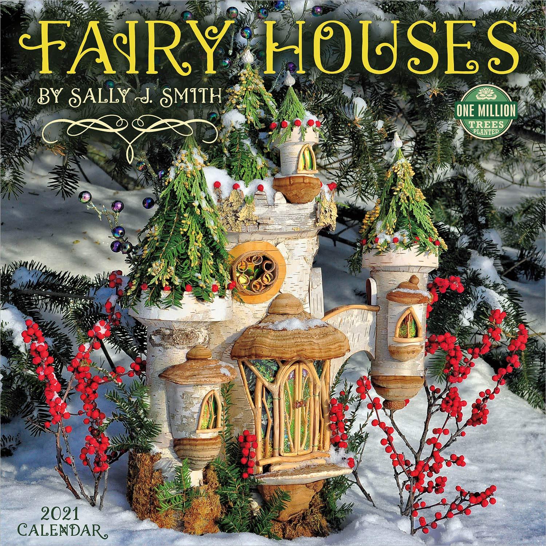 Amazon.com: Fairy Houses 2021 Wall Calendar (9781631366543): Sally