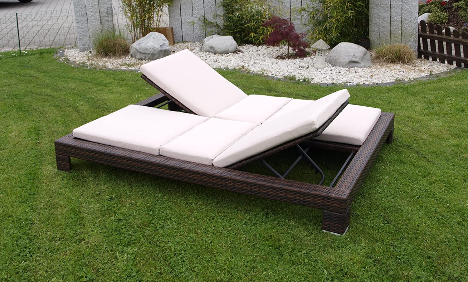 relaxliege rattan cool relaxliege rattan with relaxliege rattan destiny liege casa luna. Black Bedroom Furniture Sets. Home Design Ideas