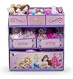 Delta Children - TB84480PS - Princesse - Meuble de Rangement