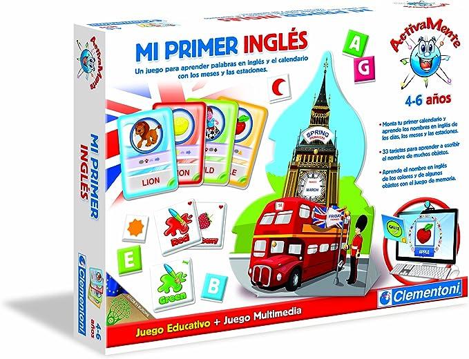 Clementoni- Aprende Mi Primer Inglés + Juego Webcam: Amazon.es: Juguetes y juegos
