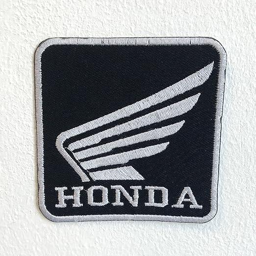 Parche bordado para coser o planchar Honda Motorsports Racing: Amazon.es: Hogar