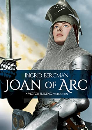Image result for ingrid bergman as joan of arc