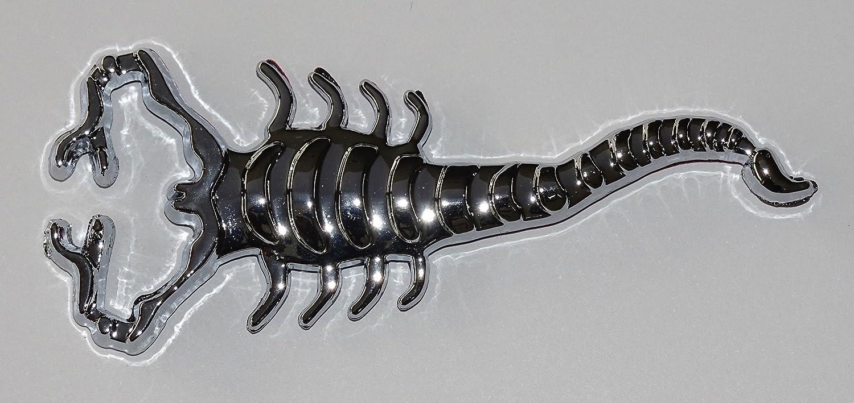 Relieve-cromo-tatuaje escorpión: Amazon.es: Coche y moto