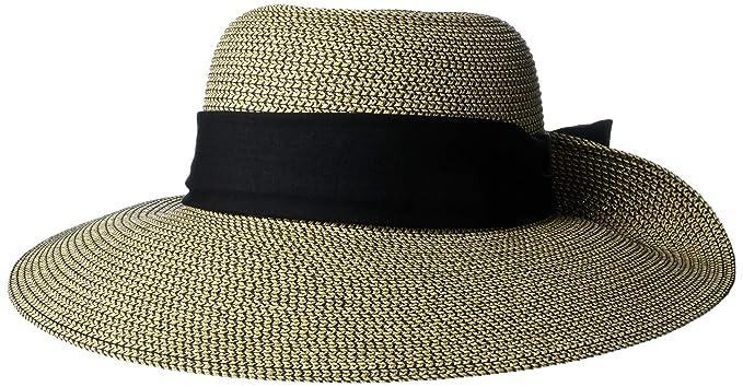 85f90ddcf488fd Nine West Women's Scarf Floppy, Black, One Size: Amazon.ca: Clothing ...