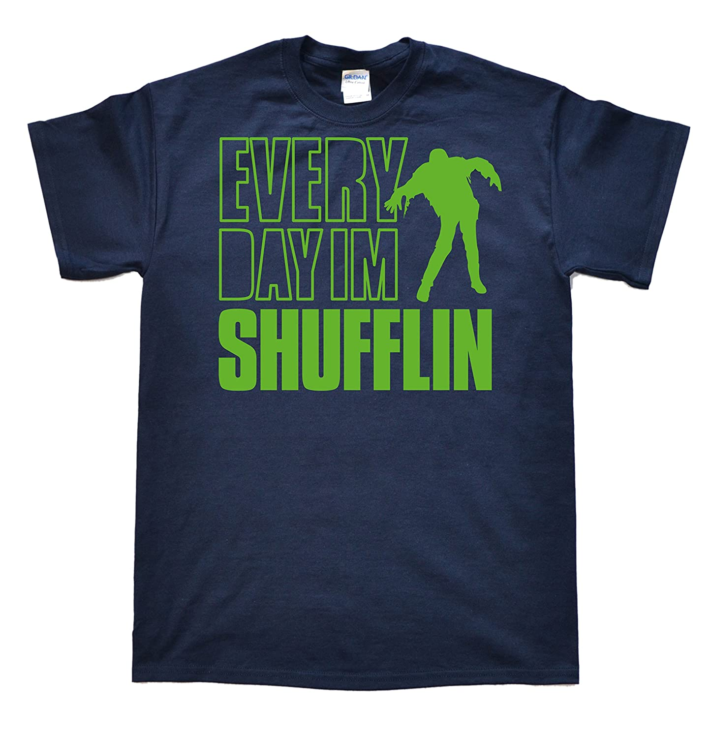 Stooble Men's Every Day Im Shuffling (Green) T-Shirt Stooble - 1ClickPrint