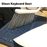 LandHope Dustpan and Brush Set for House Floor Sofa Office Desk Cleaning Ergonomic Brush Design