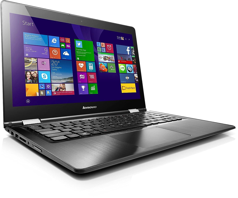 Lenovo Yoga 500 14 - Ordenador portátil (Híbrido (2-en-1), Touchpad, Windows 8.1 , Polímero de litio, 64-bit, Negro), teclado QWERTZ (alemán): Amazon.es: ...
