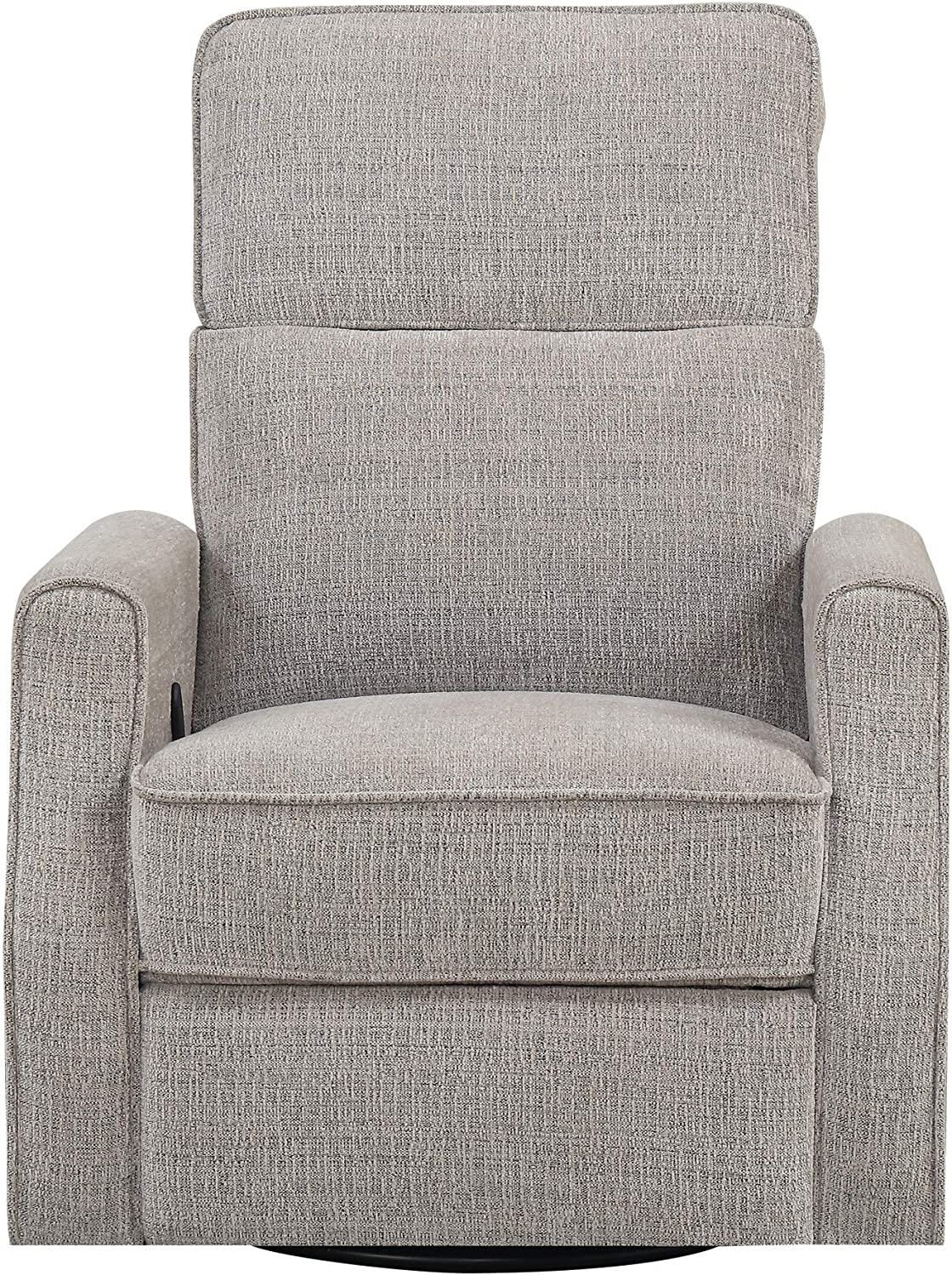 Emerald Home Furnishings Tabor Wheat Swivel Gliding Recliner