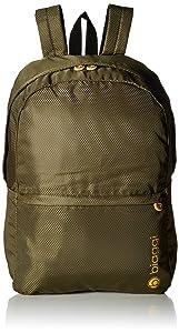 Biaggi Paksak Packable Backpack - As Seen on Shark Tank - Olive - 17-Inch