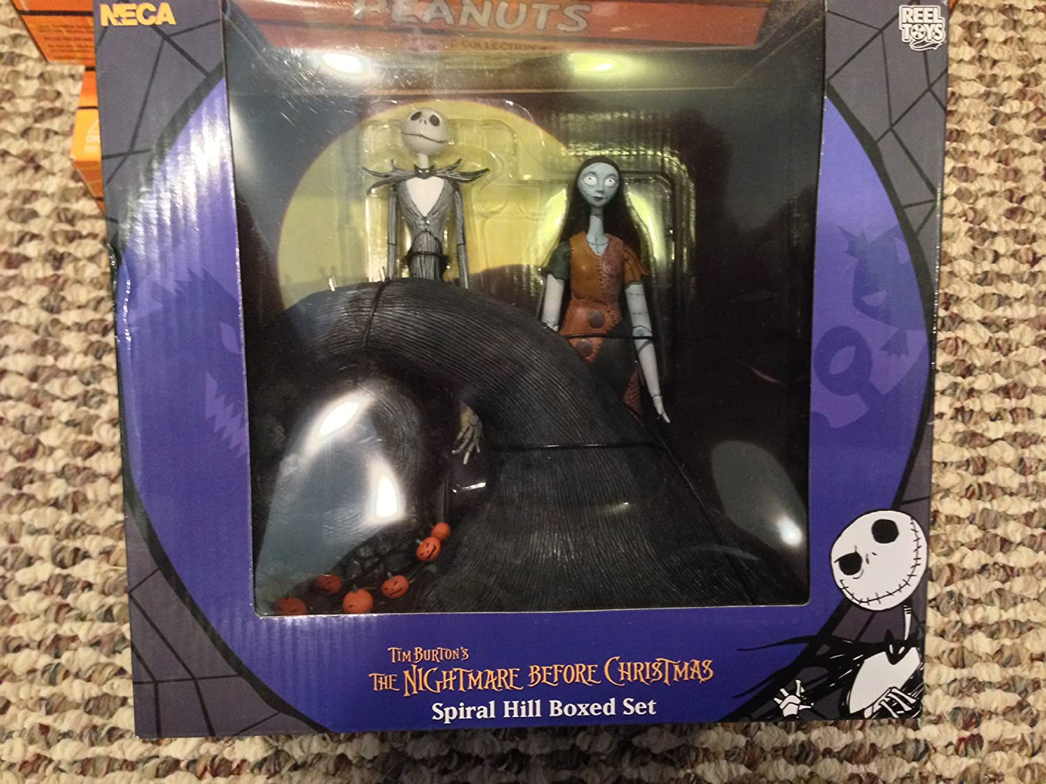 Amazon.com : Nightmare Before Christmas Jack and Sally on Spiral ...