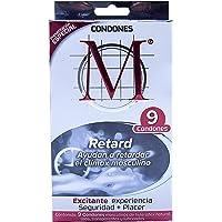 Condones M Retard 9 piezas
