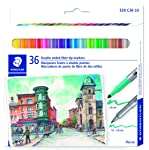 Staedtler - marcador lavable, 320 C36 LU, Multi Color