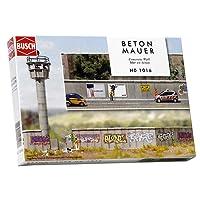 Busch Environnement BUE1016 - Modélisme Ferroviaire - Mur en Béton