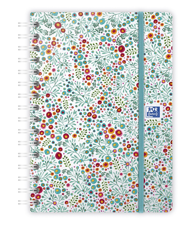 Oxford 100735833 Flowers - Agenda (semanal en espiral año ...