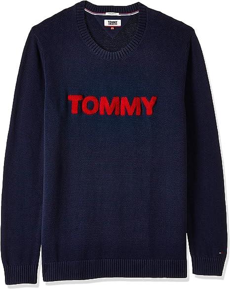 Tommy Hilfiger Bold Logo suéter para Hombre