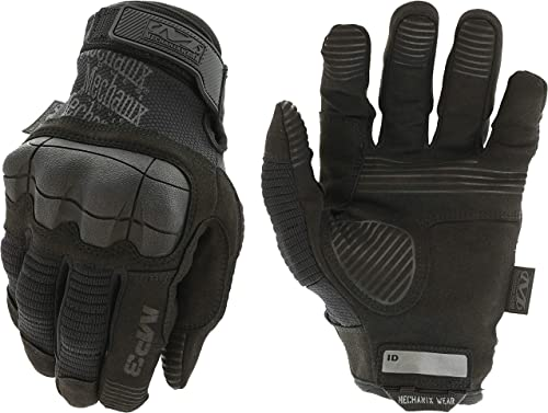 Mechanix M-Pact 3 Covert Gloves, Black, Large