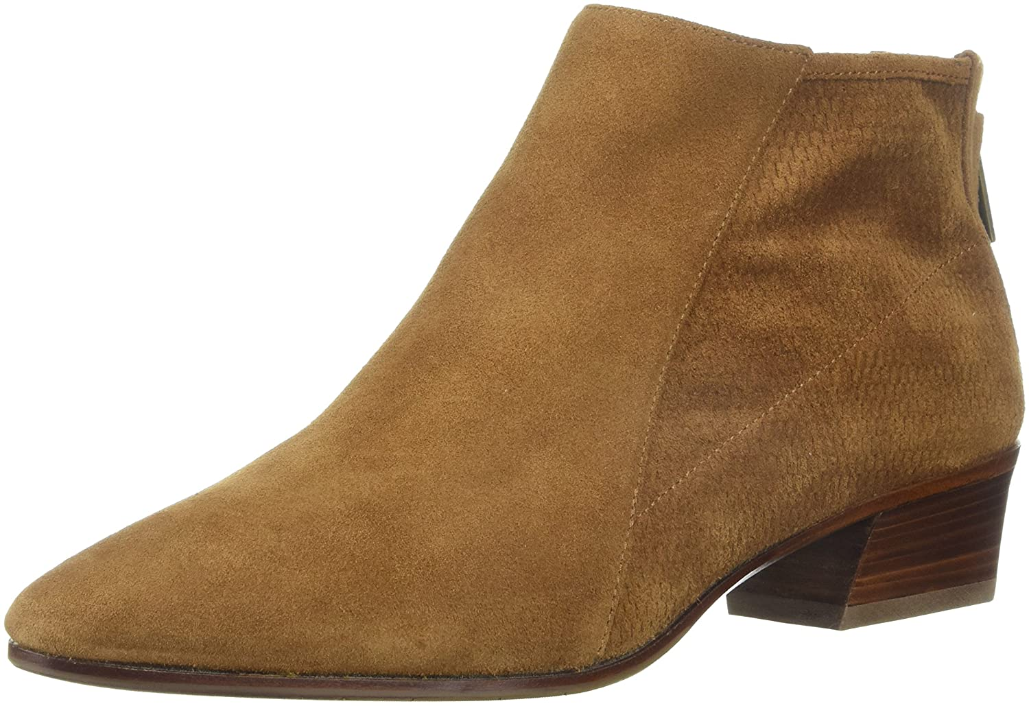 Aquatalia by Marvin K. Women's Fianna Perf Suede Ankle Boot B077H518CD 7 B(M) US|Cognac