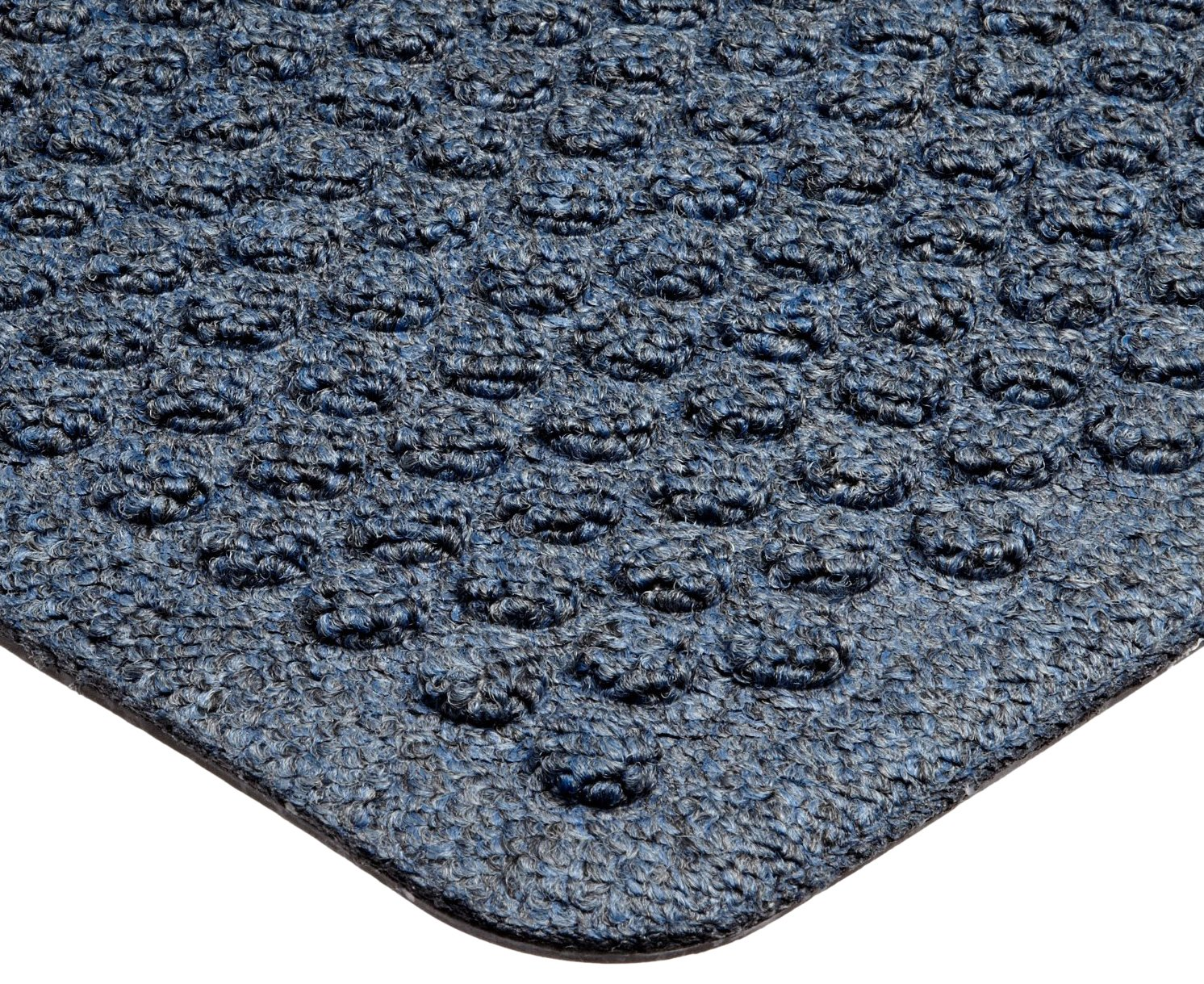 Notrax 150 Aqua Trap Entrance Mat, for Main Entranceways and Heavy Traffic Areas, 4' Width x 6' Length x 3/8'' Thickness, Slate Blue