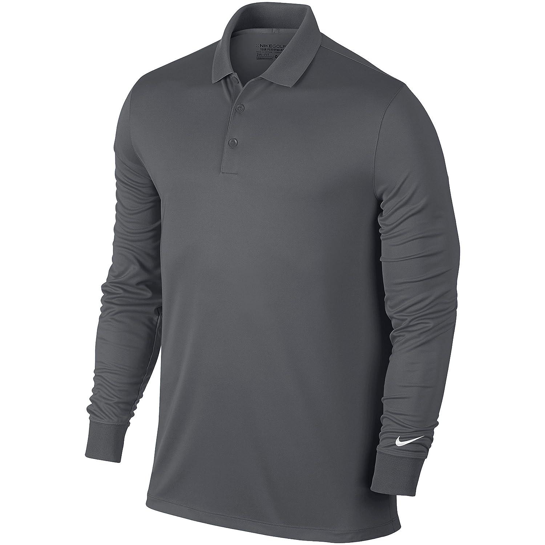 Nike Victory L/S Camiseta Polo de Manga Larga de Golf, Hombre: Amazon.es: Deportes y aire libre