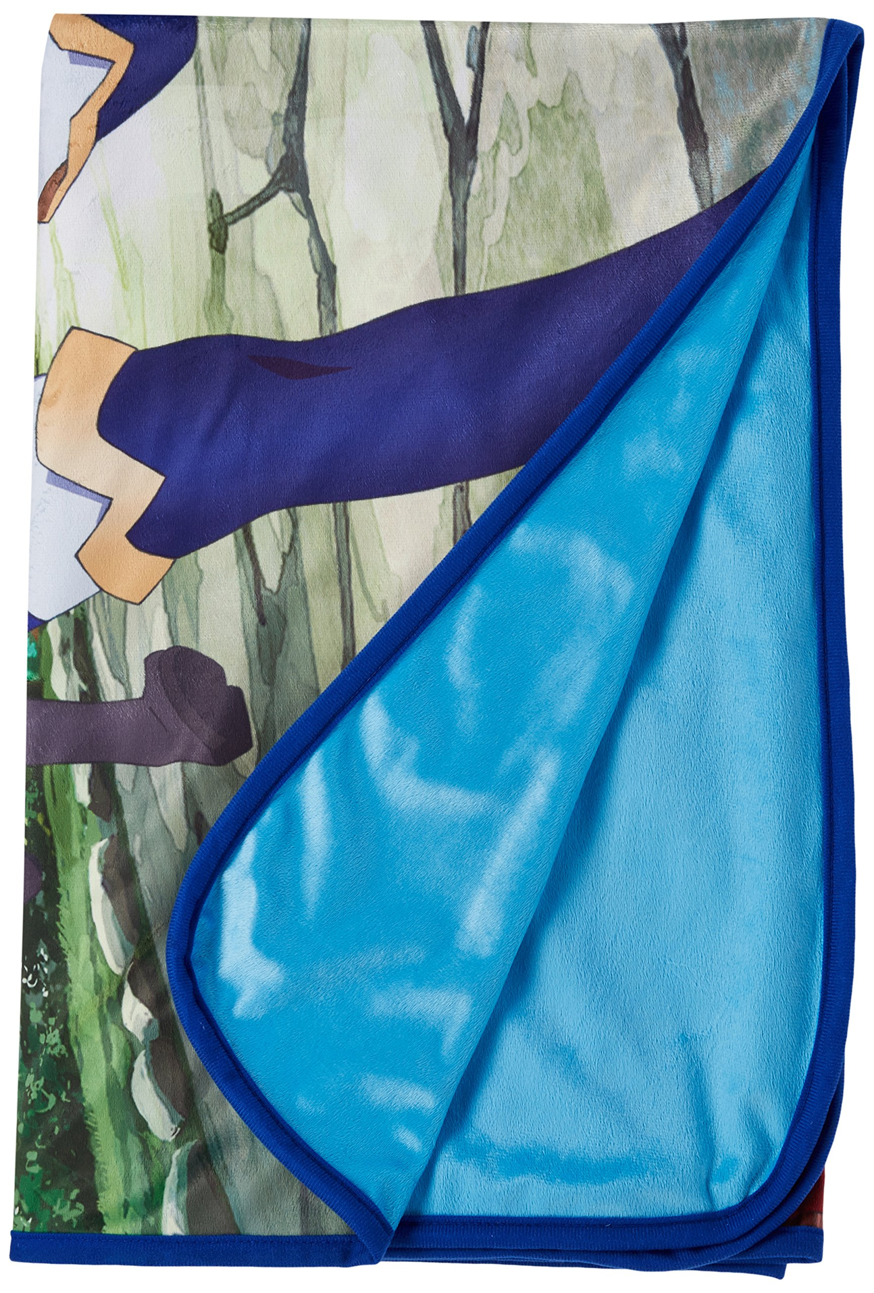 KONOSUBA Group Sublimation Throw Blanket, Multicolored by KONOSUBA (Image #1)