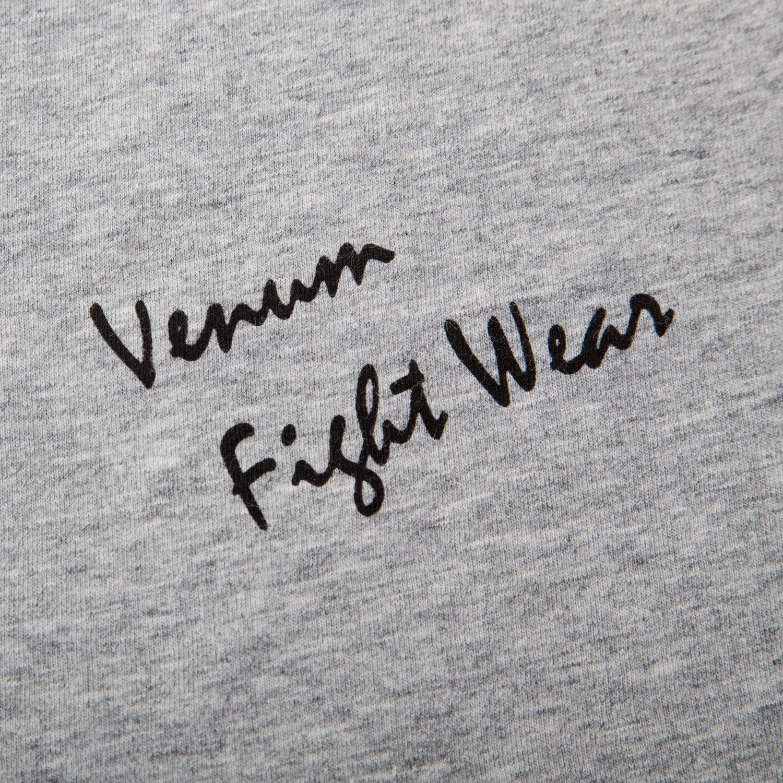 Venum Giant Short Sleeve T-Shirt Gray//Black