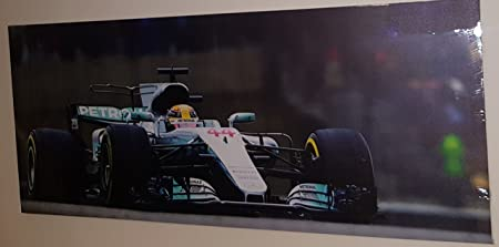 5 Sizes LEWIS HAMILTON Mercedes 2016 Monaco GP F1 Canvas Print Wall Art Picture