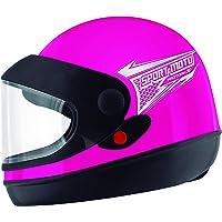 Pro Tork Capacete Sport Moto 58 Rosa