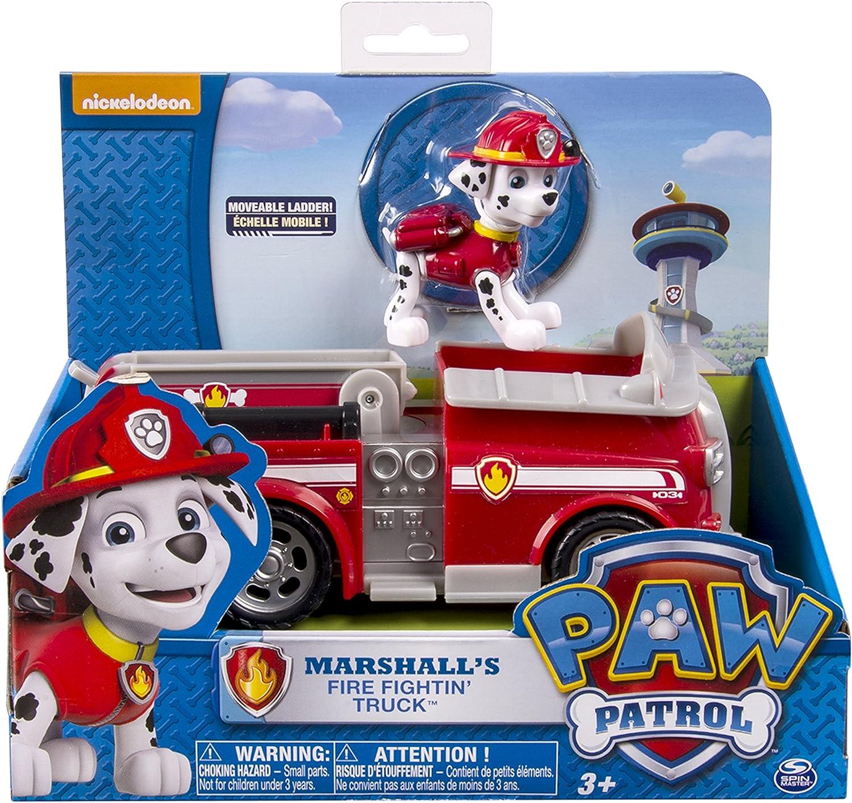 Paw Patrol Pat Patrol Ryder Veicolo e Personaggio Veicolo e Figura