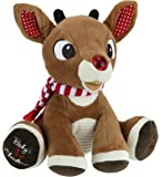 Kids Preferred Rudolph Baby's First Christmas Plush with Music and Lights by Kids Preferred