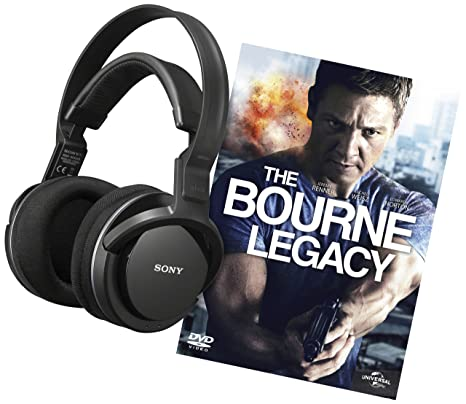 Sony MDR-RF855RK Cuffie Wireless e DVD The Bourne Legacy 94493b41992c