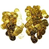 海賊 金貨 200枚コインセットコスチューム用小物 直径3.5cm