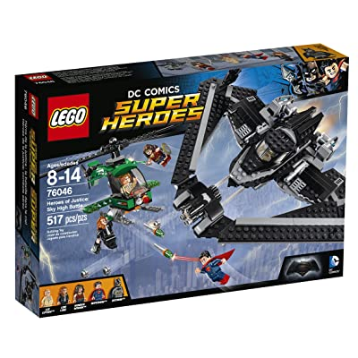 LEGO Super Heroes Heroes of Justice: Sky High Battle 76046: Toys & Games [5Bkhe0203830]