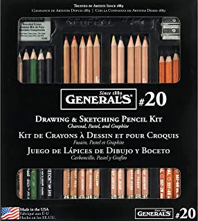 product image for General Pencil Classic Sketching & Drawing Kit