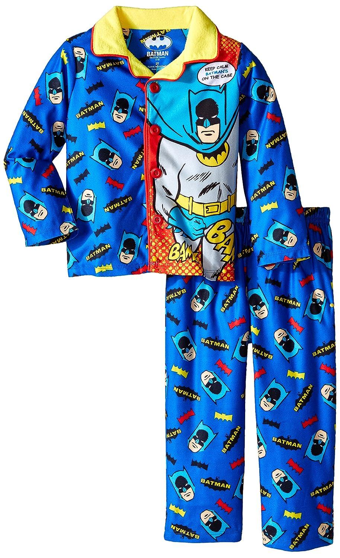 Batman boys Long Sleeve Coat Set With Panel Blue 3T Komar Boys 2-7 K182019BM