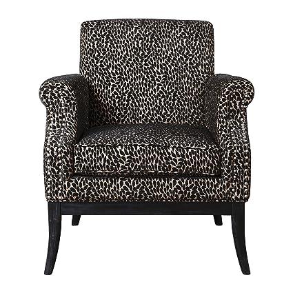 Charmant Amazon.com: Luxe Mid Century Modern Teardrop Leopard Print ...