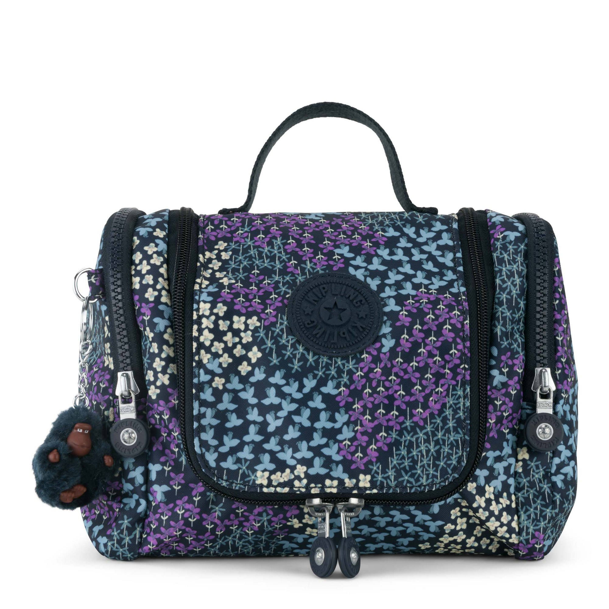 Kipling Connie Printed Hanging Toiletry Bag, Dotted Bouquet