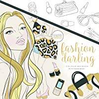 Kaisercraft CL512 Fashion Darling Colouring Book