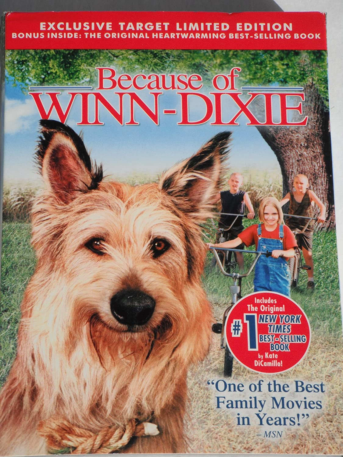 Review of winn dixie free appliances - Amazon Com Exclusive Target Limited Edition Because Of Winn Dixie Dvd And Original Paperback Book Movies Tv