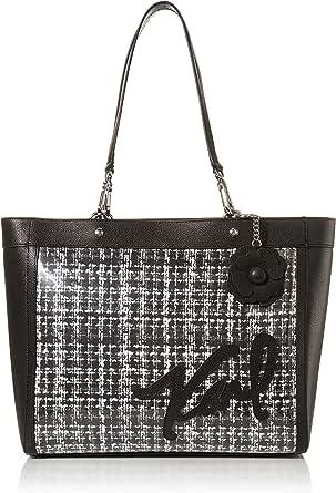 Karl Lagerfeld Paris Double Strap Logo Kristen Tote