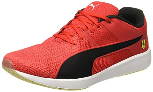 391bfc9a52dd Puma Men s Sf F117 Rosso Corsa-Puma Black-Puma White Sneakers - 10 UK