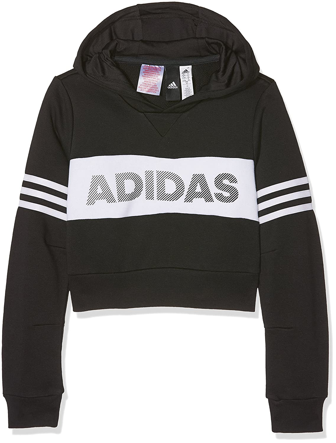 adidas ID Cropped fille Hoodie 9-10 ans