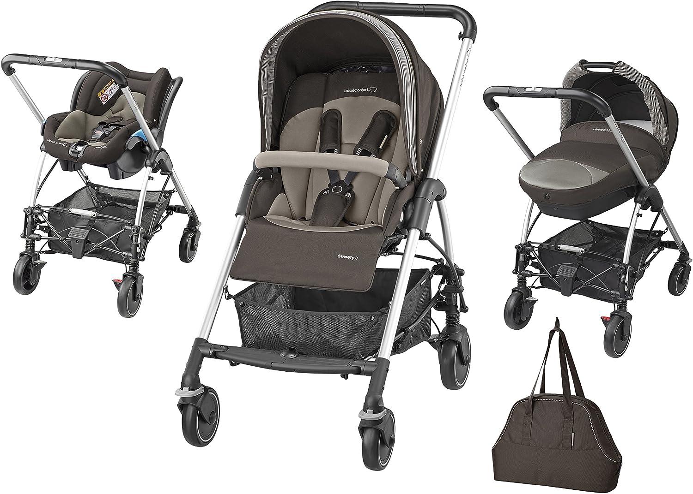 Bébé Confort Streety Next - Pack trío, color negro: Amazon.es: Bebé