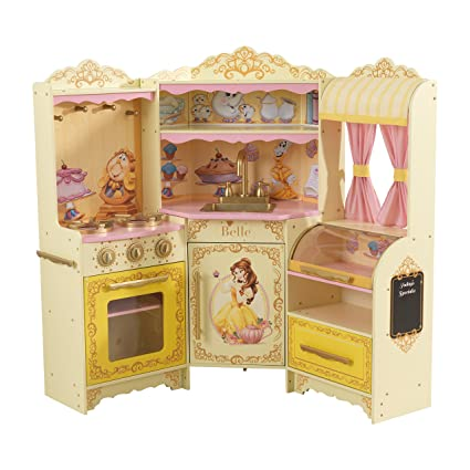 Amazon Com Disney Princess Belle Pastry Kitchen Toys Games