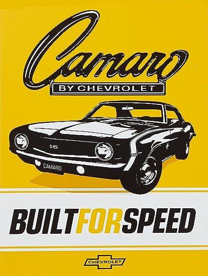 SHAWPRINT Camaro por Chevrolet diseño Retro Vintage Estilo ...