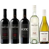 カリフォルニアの単一畑の高貴なぶどうから生まれた、米ワイン評価誌90点以上の高評価ワイン5本セット(赤750mlx3本、白750mlx2本) [チリ/Amazon.co.jp限定/Winery Direct]
