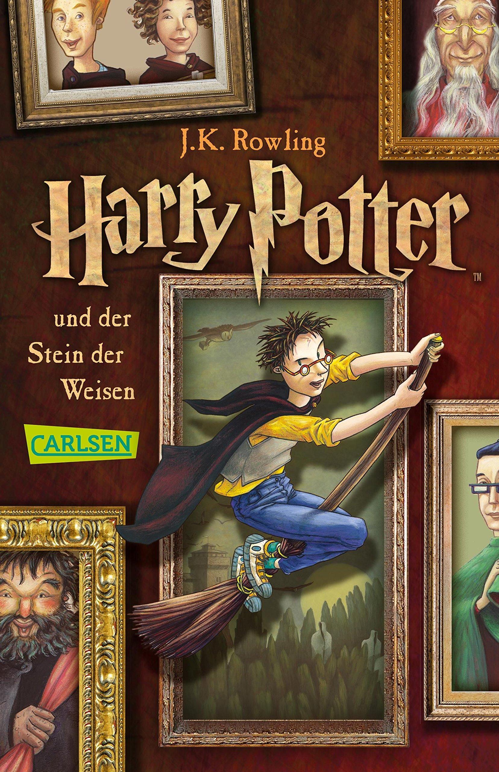 Harry Potter und der Stein der Weisen: Amazon.es: J.K. Rowling, Klaus  Fritz: Libros en idiomas extranjeros
