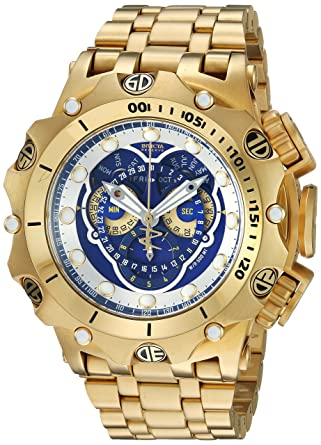 4651e308594 Invicta Reserve Venom Hybrid Swiss Master Calander 5040.F Chronograph  16805: Amazon.co.uk: Watches
