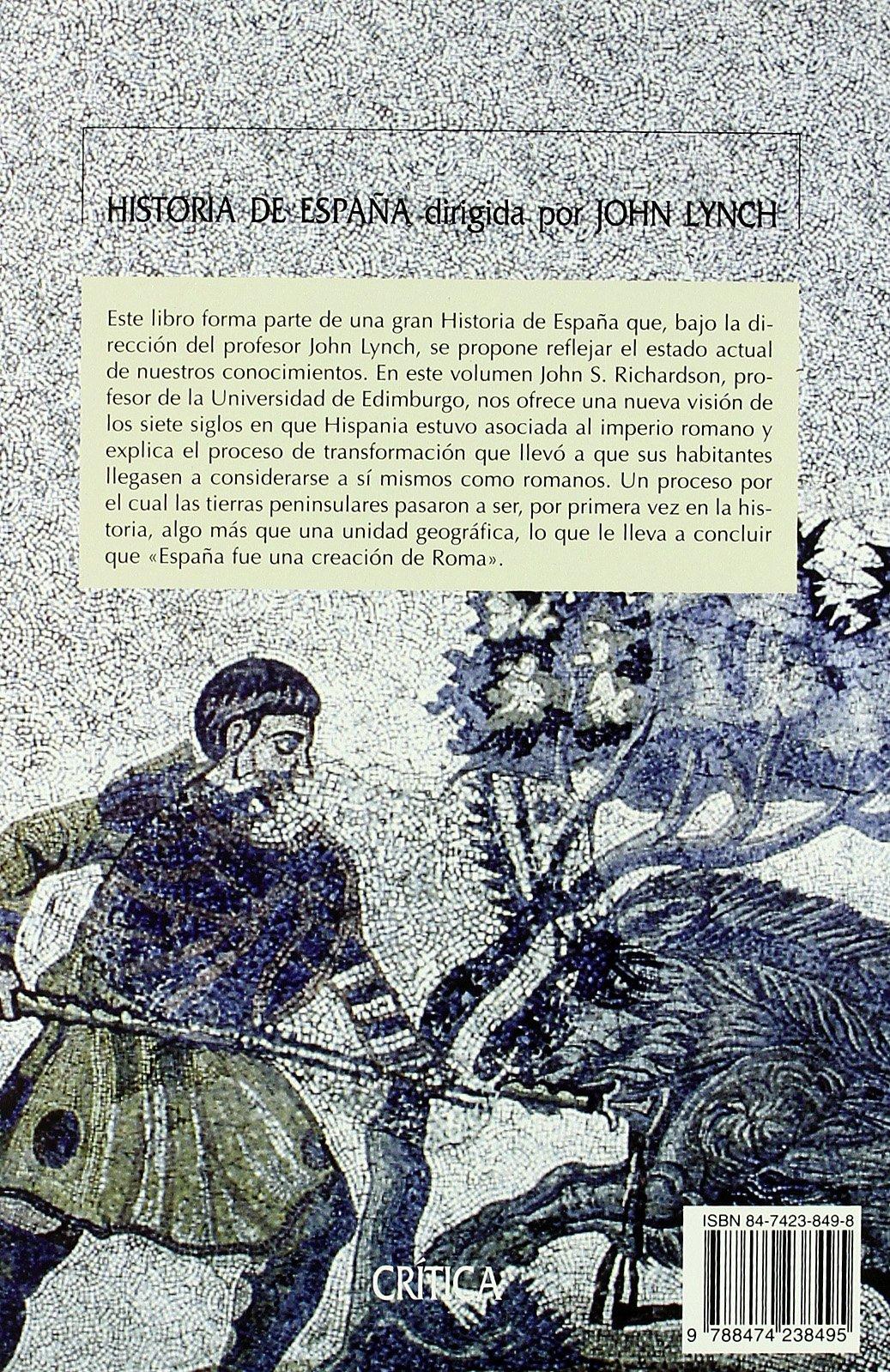 Hispania y los romanos (Serie Mayor): Amazon.es: Richardson, John S.: Libros