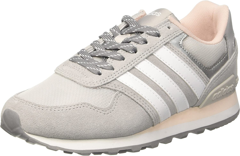recibir harto Pensativo  adidas Women's 10K W, GRETWO/WHITE/ICE PINK, 6.5 US: Amazon.ca: Shoes &  Handbags