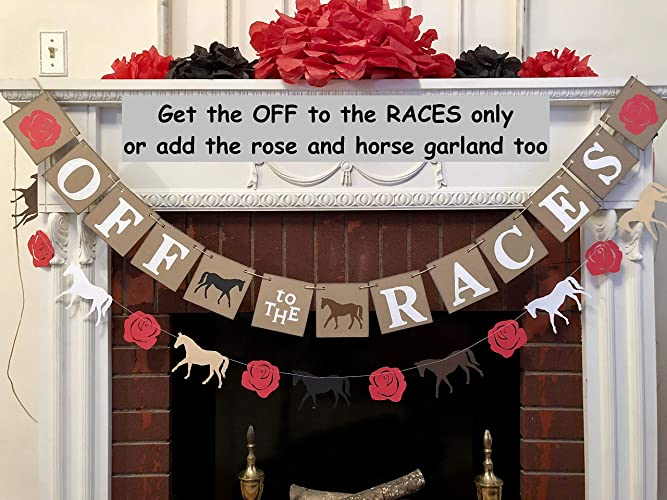 e13c57c986 Amazon.com  Derby Decor Off to the Races Banner
